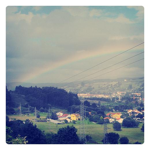 Torrelavega - arcoiris - Ganzo