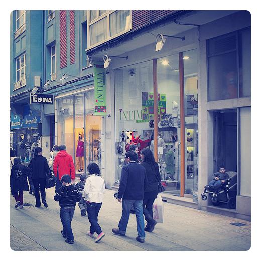 Torrelavega - calle comercial