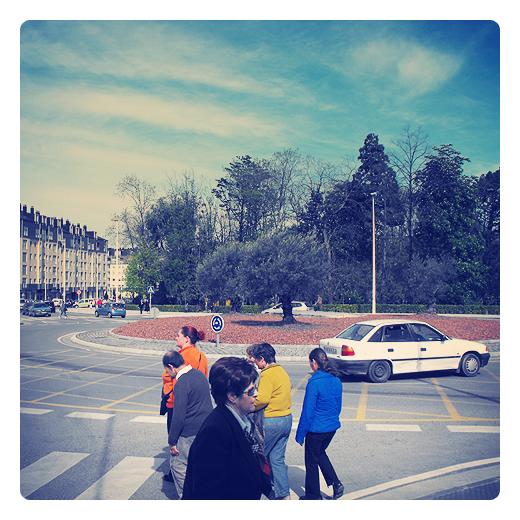 Torrelavega - paso de peatones