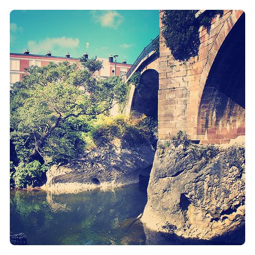 Torrelavega - puente de piedra