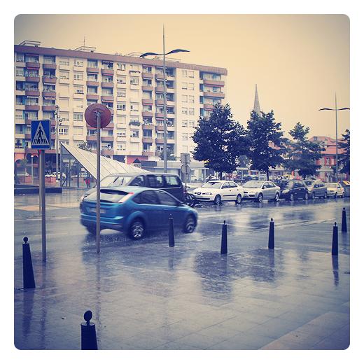 Torrelavega - dia lluvioso