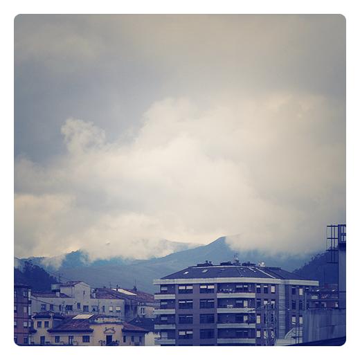 Torrelavega - nubes bajas