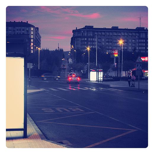 Torrelavega - parada bus