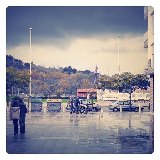 Torrelavega - cielo tormenta