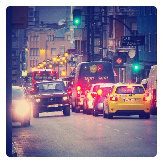 Torrelavega - luces de ciudad