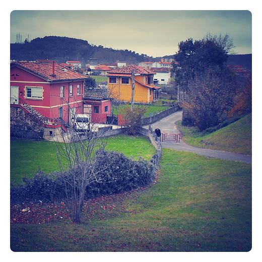 Torrelavega - camino peatonal