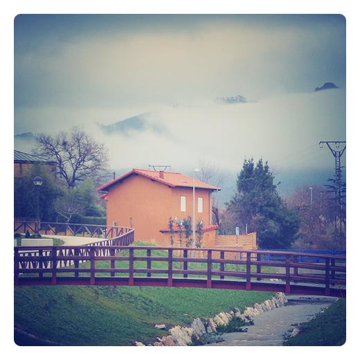 Torrelavega - la niebla