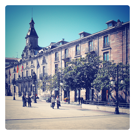 Torrelavega - plaza ayuntamiento