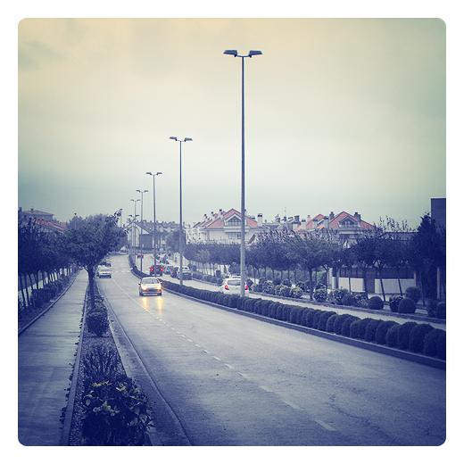 tarde lluviosa, lluvia, meteorologia, el tiempo, dia gris, melancolia, anillo periferico, fin del verano en Torrelavega