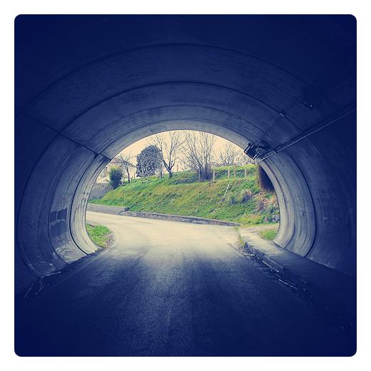 paisaje enmarcado, tunel, paso inferior, autovia, carretera comarcal, paisaje de arboles, infraestructuras de transporte, túnel abovedado, fotografía de Torrelavega