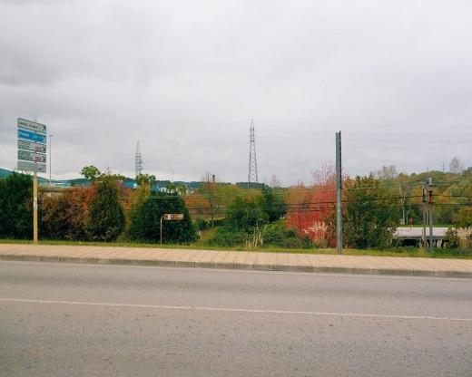 N-611, carretera nacional, carretera Santander-Palencia, red de carreteras, señalización, otoño, colores de otoño, fotografia de Torrelavega
